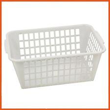 24 x PLASTIC STORAGE BASKET 37x24x24cm Drawer Shelves Organiser Bins Desk Tray