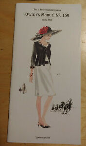 J Peterman Company Owner's Manual Catalog #159 Derby 2018