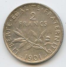 IIIème République (1871-1940) 2 Francs Semeuse 1901