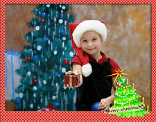 Christmas Tree Indoor Photo Backdrop 9ft x12ft, Hand Painted, Steve Kaeser