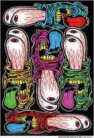 Eyes Scream Sticker Decal Art Ben Von Strawn BV23