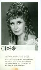 BEVERLY SILLS PORTRAIT METROPOLITAN OPERA 60 MINUTES ORIGINAL 1975 CBS TV PHOTO