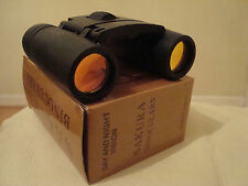 SAKURA DAY and Night Vision 30 x 60 Zoom Mini Compact Binocolo