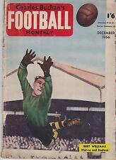 CHARLES BUCHAN'S FOOTBALL MONTHLY DECEMBER 1956 ~ ASTON VILLA / WOLVERHAMPTON