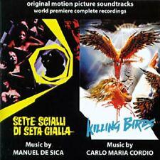 Manuel De Sica: Sette Scialli Di Seta Gialla/Killing Birds (New/Sealed CD)