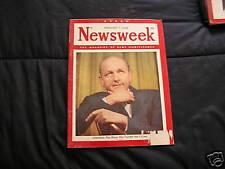 Newsweek Magazine February 7, 1949  Lilienthal