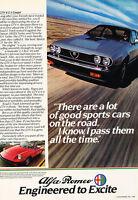 Classic Vintage Advertisement Ad H26 1967 1968 Alfa Romeo Sprint GT Veloce