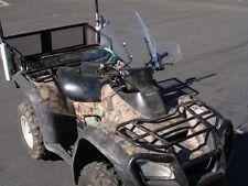 LARGE ATV WINDSHIELD For Honda Rincon Rancher Grizzly CAN AM Prairie KFX Suzuki