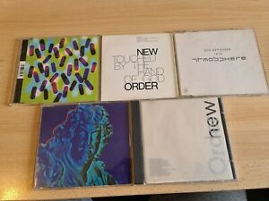 NEW ORDER JOY DIVISION CD SINGLE / ALBUM PACKAGE JOB LOT WHOLESALE COLLECTION...