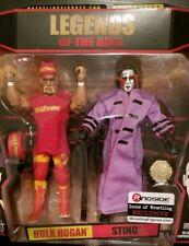 Tna action figures 2pack Hulk Hogan Vs Sting With Title