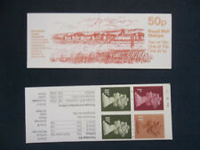 Fb38 Roman Britain 50P Machin Stamp Booklet Portchester Castle Cylinder