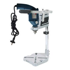 Metal Hand Drill Press Bench Stand Workbench Pillar Clamp Repair Drilling Holder