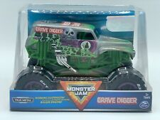 Grave Digger Monster Truck Monster Jam Official Die-Cast Vehicle 1:24 Scale NEW