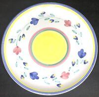 "VTG CALECA ""GIARDINO"" Hand Painted Italy 11"" Dinner Plate ~ EUC"