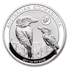 2017-P Australian Kookaburra 1 oz .999 Silver Round Bullion Rooster Privy Coin