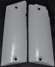 Llama 45 ACP Max1-C/F pistol grips pure white plastic