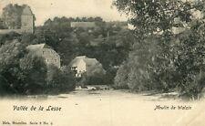 Belgium Walzin - Moulin old postcard