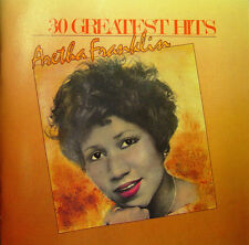 Aretha Franklin 2xCD 30 Greatest Hits - Europe (M/M)