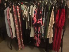 NEW LADIES WHOLESALE JOB LOT BUNDLE RAIL MIXED CLOTHES EBAY CAR BOOT 20 ITEMS 14