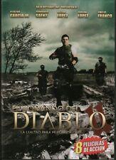 8 Películas de Accion-Comando Del Diablo 2,Baño De Sangre-DVD-2 Discos-Español