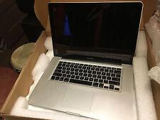 "MacBook Pro pre-retina 15"" i7 2.66GHz 8GB 1TB HDD DVD/RW"