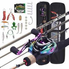 8:1:1 Fishing Rod Reel Fishing Set Portable Combo 28pcs Saltwater Freshwater Kit