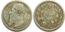 Pièces de monnaie belges Leopold II