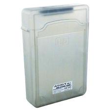 "5pcs 3.5"" IDE SATA HDD Hard Drive Disk Plastic Storage Box Case Enclosure B DT"