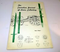 Canadian Journal of Arms Collecting November 1969 Vol 7 No 1 Wescan Ammo Rifling