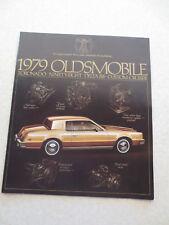 1979 Oldsmobile cars advertising booklet 98 Delta 88 Toronado Custom Cruiser