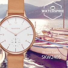 Skagen Anita Sub-Eye Leather Watch SKW2405