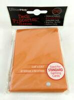 Ultra Pro 50 Proteges Cartes Deck Protector Sleeves Orange Magic  Envoi suivi