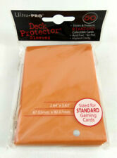 Ultra Pro 50 Schützer Karten Deck Protector Hüllen Orange Magic