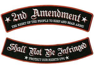 "2nd Amendment Rockers   ""Don't Tread On Me"" Patriotic   Large 12"""
