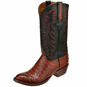 Lucchese Men's Shoes Ultra Belly Caiman Boot