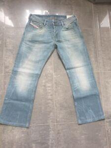 Diesel ZATHAN 008QK Bootcut Jeans Denim W 31 Vintage Rar