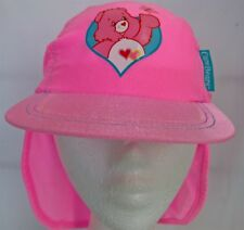 ~ Care Bears - PINK LYCRA GIRLS LEGIONNAIRES SUN HAT CAP CHILDS + Photo Frame