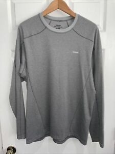 Men's Patagonia Capilene3 Mid-weight Base Layer Black Small Hiking Camping