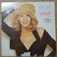 "KYLIE MINOGUE ""ENJOY YOURSELF"" RARE SPANISH 12"" VINYL WITH INSERT /SANNI RECORDS"