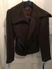 Women's PETITE Blazer Jacket SIZE 2 Brown Nubby Sparkle JONES NY $229+tax