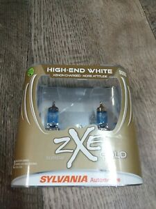 Sylvania Silverstar ZXE GOLD 9006 Pair Set Headlight Bulbs Xenon Fueled NEW