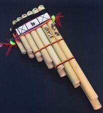 """Amazing Handmade Peruvian Zampona Chill Pan Flute 13 Pipes Professional 11"""" x 4"""""""