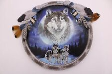 Agnew Bradford 2011 LE Wolves Resin MAJESTIC CALLING Glow in Dark Plaque Wolf