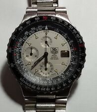 TAG  HEUER  VINTAGE CHRONOGRAPH  MM 43 S. STEEL