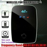 150Mbps LTE Mobile Broadband Hotspot UNLOCKED Portable 4G WIFI Router SIM Card