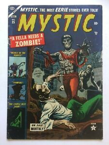 Mystic #25, UNRESTORED, nice,Stan Lee & John Romita story, Relist due to non pay