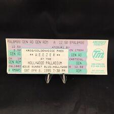 Weezer Hollywood Palladium California Ticket Stub Kroq Sunset Vintage April 1995
