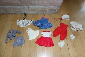 Vintage Vogue Ginny Dress Shoes Ski Clothes Outfits Lot