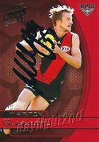 ✺Signed✺ 2015 ESSENDON BOMBERS AFL Card MARTIN GLEESON