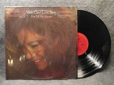 33 RPM LP Record Vikki Carr's Love Story For All We Know Columbia Records C30662